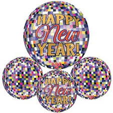 happy new year balloon new year balloons new year s balloons woodies party