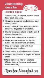 193 best kid friendly volunteering ideas images on