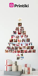 Christmas Wall Pictures by Christmas Tree Photo Wall Collage U2014 Printiki