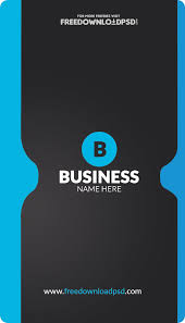 Business Card Template Online Free Free Corporate Business Card Template Freedownloadpsd Com