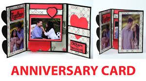 handmade anniversary card how to make anniversary greeting card