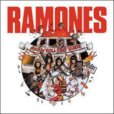 the ramones rock n roll high sticker