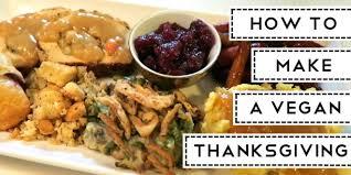 make a vegan thanksgiving vegandemy