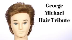 mens tidal wave hair cut george michael hair tutorial tribute careless whisper haircut
