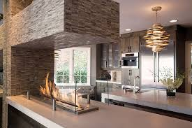 kitchen fireplace ideas trends give your kitchen a sizzling makeover with a fireplace