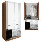 Mirror Armoire Wardrobe Mirrored Armoire Contempo Space