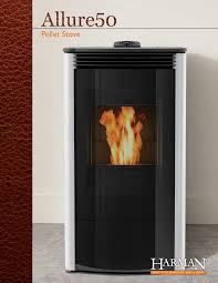 harman allure50 pellet stove mainline home energy services