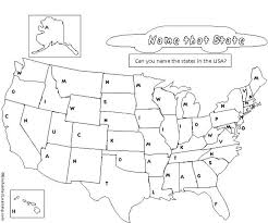 map of us states empty map us states and capitals list worksheets