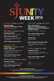 past unity weeks inclusion and diversity at sju
