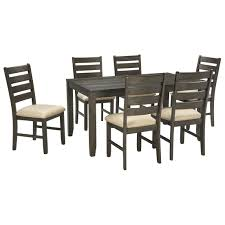 signature design by ashley rokane 7 piece dining set apartment