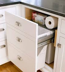 Kitchen Cabinet Trash Kitchen Cabinet Garbage Drawer Bar Cabinet