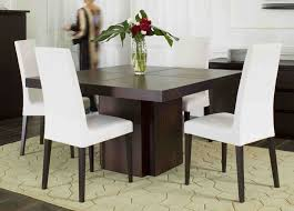 Square Dining Table And Chairs Extraordinary Square Dining Room Table For 4 72 For Dining Room