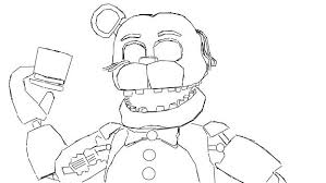 fnaf mangle coloring pages fnaf coloring pages freddy chica coloring page for your idea