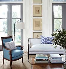 blue livingroom beautiful rooms in blue and white traditional home