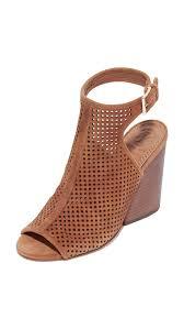 tory burch grove open toe booties royal tan women shoes tory burch