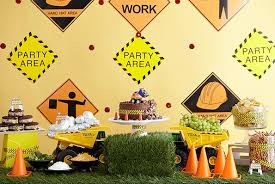 construction birthday party kids get to work at a construction themed birthday party evite