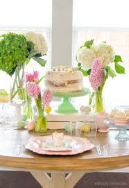 Easter Decorations Ideas Table by Engaging Spring Flower Garden Table Decorations With Easter Diy