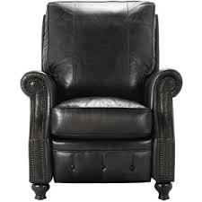 Black Leather Recliner Revere 34 Leather Recliner In Saddle Black Polyvore