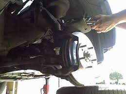 honda crv brake 2003 honda crv brake pad and rotor change part 2