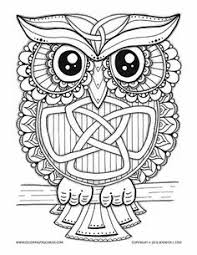 owl free printable coloring pages u2026 pinteres u2026