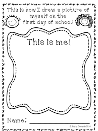 first day of kindergarten coloring page to invigorate to color