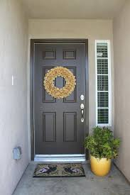 front door colors for gray green house feng shui faces west ideas