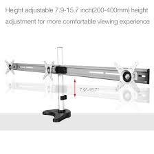 m15 triple arm desk monitor mount for 10 u2033 27 u2033 u2013 fleximounts