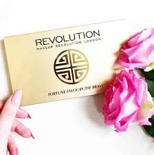 win one of the new fortune favours the brave palettes at makeup revolution giftout free giveaways singapore msia usa korea worldwide