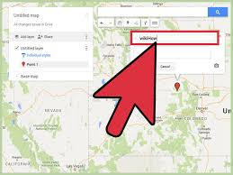 Map My Route Google by 3 Ways To Add A Marker In Google Maps Wikihow