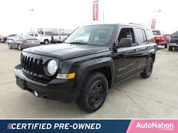 pre owned jeep patriot 2016 jeep patriot sport for sale katy tx