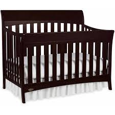 Espresso Convertible Cribs Graco Rory 5 In 1 Convertible Crib Espresso Walmart