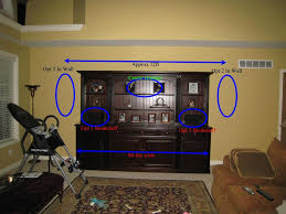 home theater in wall help in speaker set up for 5 1 living room avs forum home
