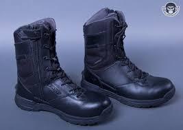 first tactical men u0027s 8inch waterproof side zip duty boot