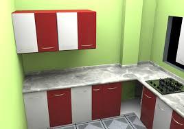 beautiful red metal kitchen cabinets taste