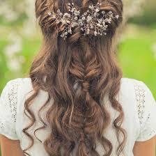 Hochsteckfrisurenen Lange Haare Halb Offen by Brautfrisuren Halboffen 10 Halbhochgesteckte Hochzeitsfrisuren
