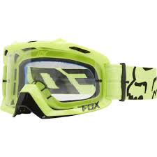 beer goggles motocross fox racing air defence mx goggles race yellow clear available at