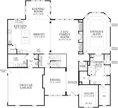 house plans with keeping rooms clearbrook manor traditional floor plan luxury house plan