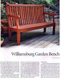 garden bench plans u2022 woodarchivist