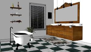 design a bathroom for free sketchup texture sketchup model bathroom