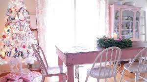 Christmas Kitchen Curtain by Christmas Kitchen Decorating Ideas White Lace Cottage