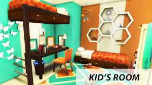 bed for kid kid s room the sims 4 room build bunk bed youtube