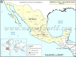 map of mexico cities where is mexico city location of mexico city in mexico map