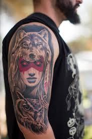 fred wolf pelt and owl ricardo vasquez flickr