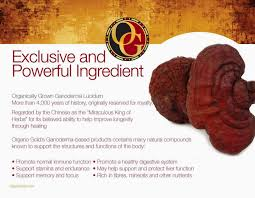 Organo Gold Business Cards 5 Sachets Organo Gold Gourmet Black Coffee With Ganoderma Lucidum