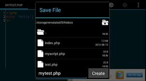 how to save to android how to run a web server on your android device laptop