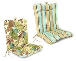 Outdoor Replacement Cushions Three Pieces Outdoor Cushion Sets With Brown Striped Pattern With