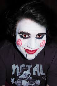 saw makeup by robertdowneyjrfan on deviantart
