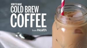 is cold brew as healthy as regular coffee health
