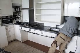küche einbauen küche mit aufbau