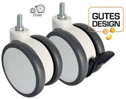 design mã belrollen moebelrollen doppelrolle totalfeststeller polyurethanbereifung m220 125mm jpg
